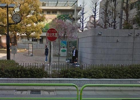 googleストリートビュー錬成公園秋葉原