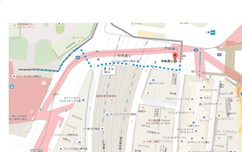 上野公園googlemap