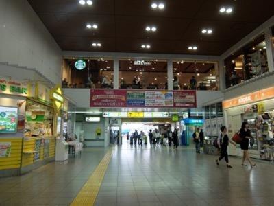 田端駅構内