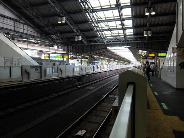 田端駅ホームドア