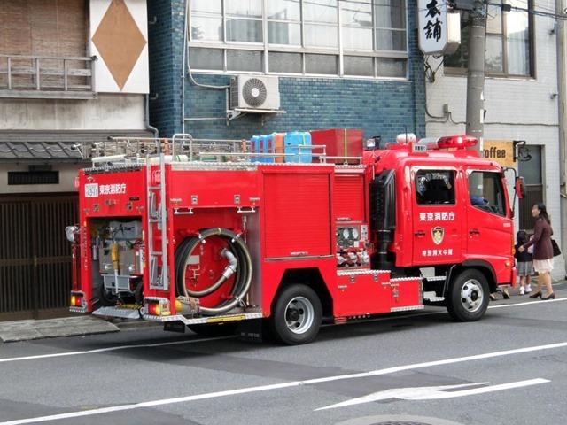 消防車特別消火中隊