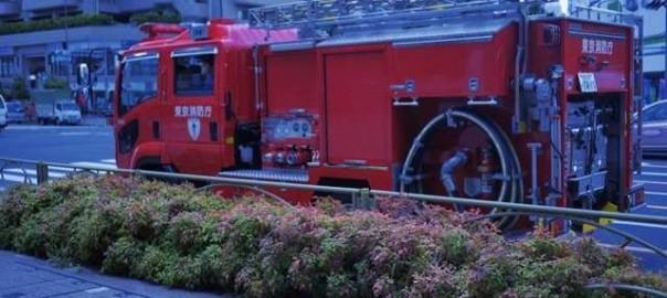 街で見かけた消防車6月