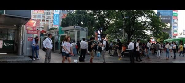 渋谷駅前の喫煙所