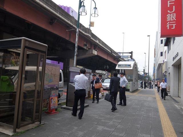 上野御徒町駅付近の喫煙所