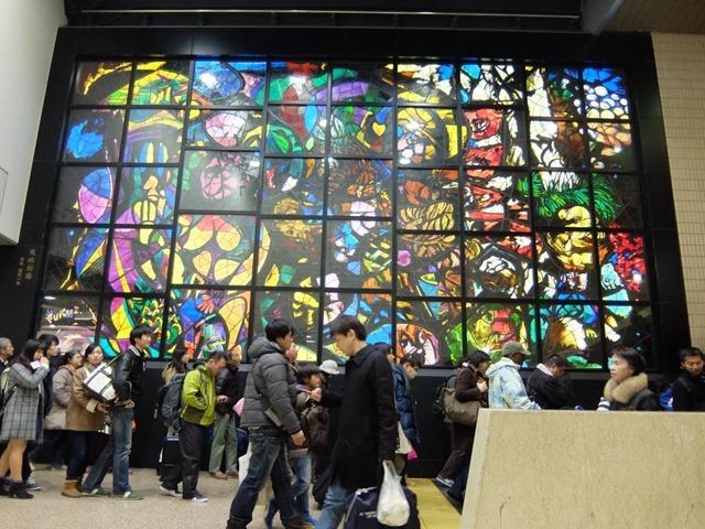 東京駅京葉線ステンドグラス