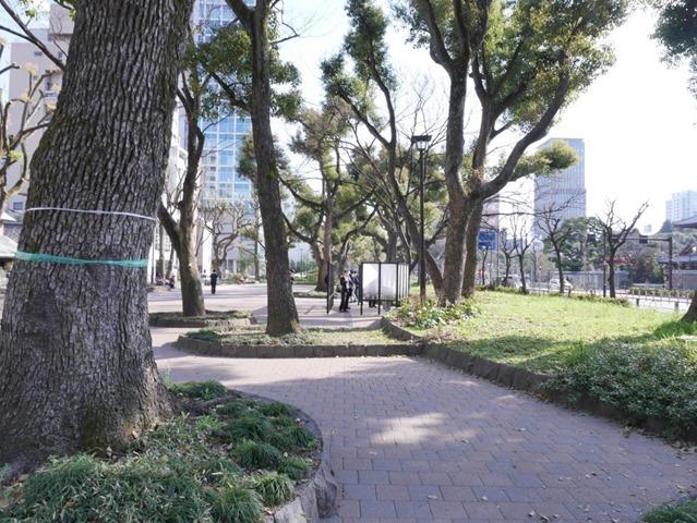 芝公園指定喫煙所