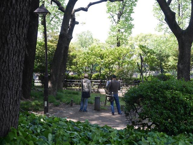 日比谷公園の喫煙所