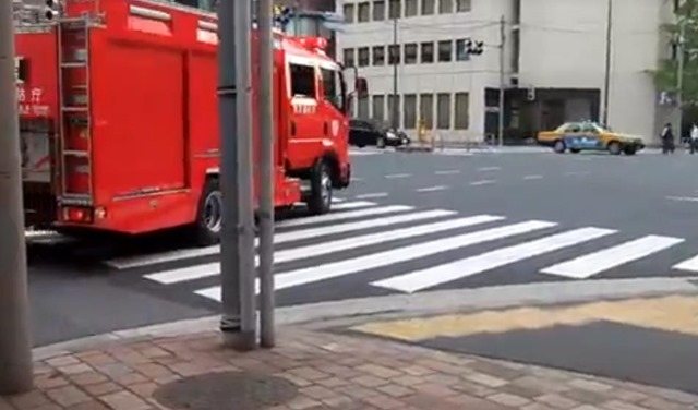 芝消防署出動