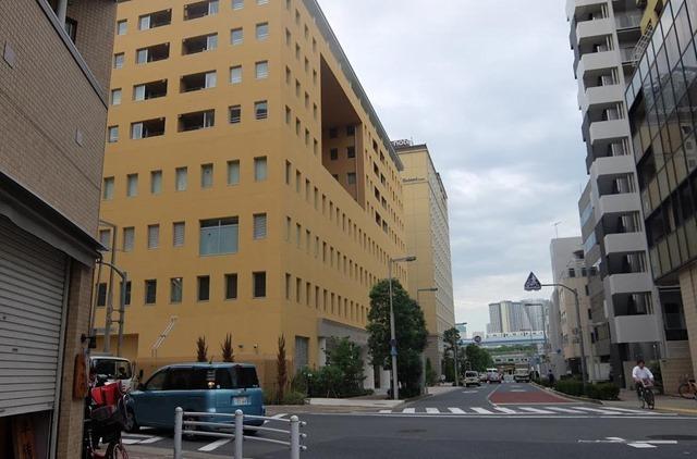 東京新橋、芝消防署