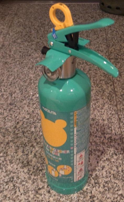 消火器は、強化液消火器がいいんだよ。 知ってた? | クラブ美雪