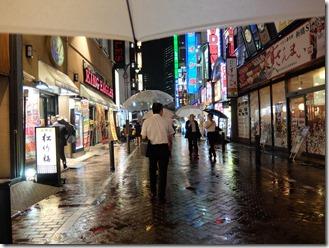 新橋慕情夏の雨